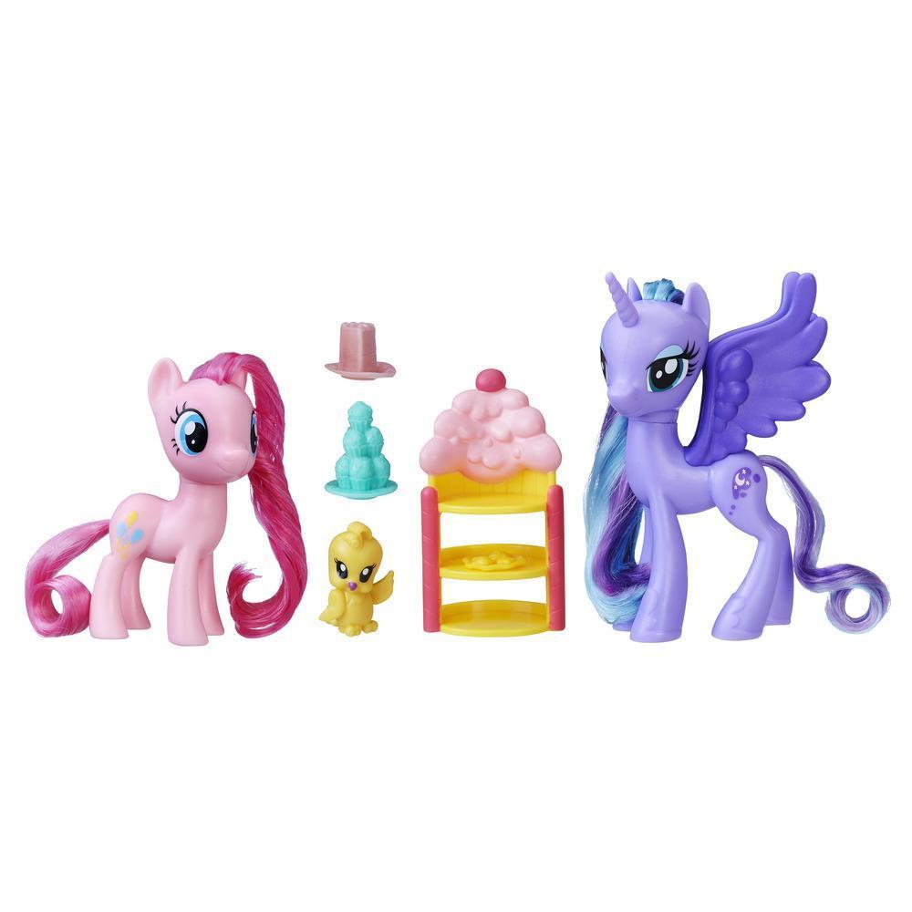 my little pony princess luna pinkie pie sweet celebration set