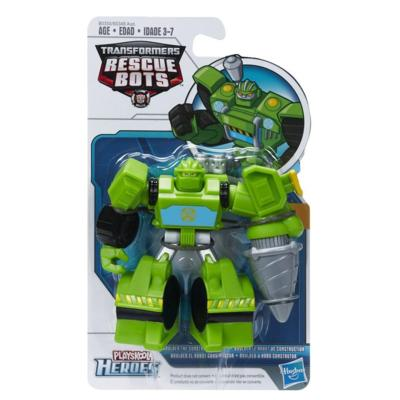 Figurine Transformers : Rescue Bots : Boulder the Constrution Bot Playskool
