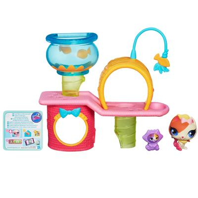 Littlest Pet Shop Cutie Cat Tree Playset