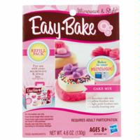 EASY-BAKE MICROWAVE AND STYLE Cake Mix Refill Pack