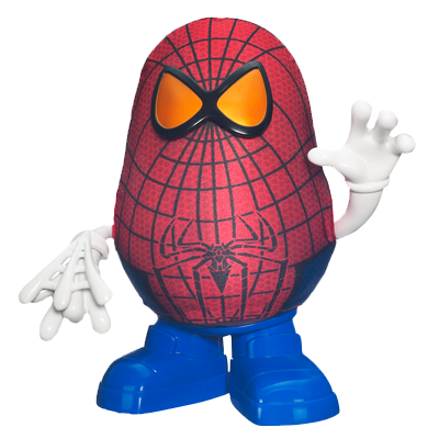 PLAYSKOOL MR. POTATO HEAD THE AMAZING SPIDER-MAN SPIDER SPUD