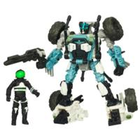 TRANSFORMERS DARK OF THE MOON MECHTECH HUMAN ALIANCE HALF-TRACK and Major Altitude