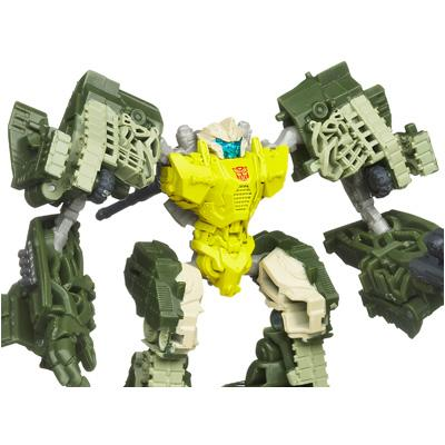 TRANSFORMERS DARK OF THE MOON CYBERVERSE Commander Class AUTOBOT GUZZLE