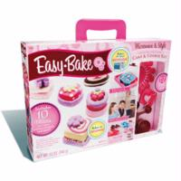 EASY-BAKE MICROWAVE & STYLE DELUXE DELIGHTS Cake and Cookie Kit