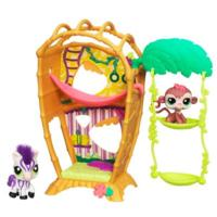 LITTLEST PET SHOP CUTEST PETS BAMBOO BUNGALOW Playset