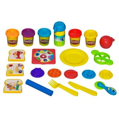 PLAY-DOH SESAME STREET 1-2-3 Lunch Box Fun Set