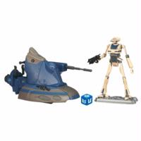 Star Wars The Clone Wars Armored Scout Tank with Tactical Droid