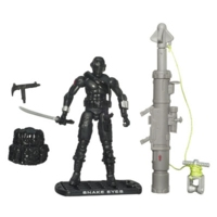 G.I. JOE RISE OF COBRA SNAKE EYES Ninja Commando