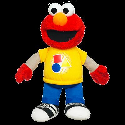 PLAYSKOOL SESAME STREET Rockin' Shapes & Colors Elmo