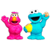 PLAYSKOOL SESAME STREET Cookie Monster & Telly Figures