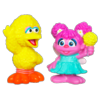 PLAYSKOOL SESAME STREET Abby Cadabby & Big Bird Figures