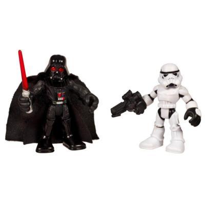 STAR WARS Jedi Force PLAYSKOOL HEROES DARTH VADER & STORMTROOPER