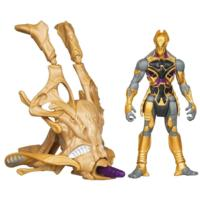 MARVEL THE AVENGERS Movie Series CHITAURI Cosmic Chariot Invasion Figure and Vehicle