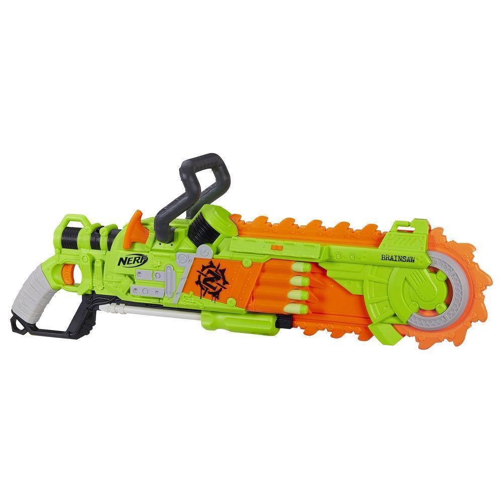 Amazon.com: Nerf Zombie Strike Sledge Fire Blaster Set: Toys & Games
