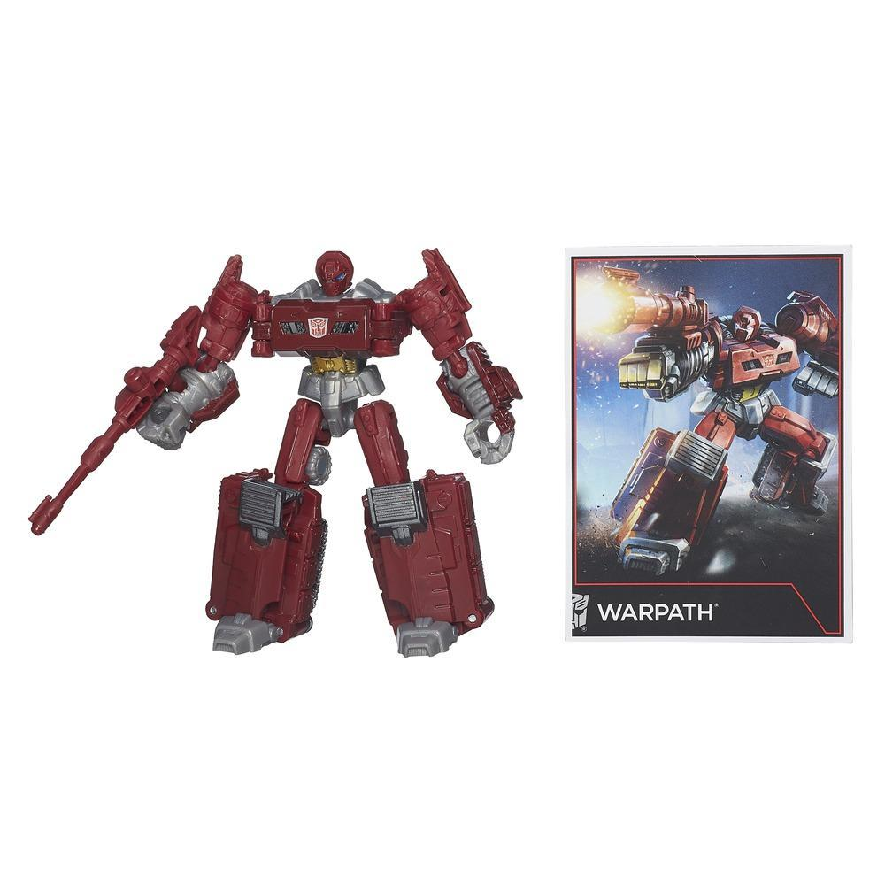 Transformers Generations Combiner Wars Legends Class Warpath Figure
