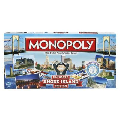 Monopoly Game Rhode Island Edition