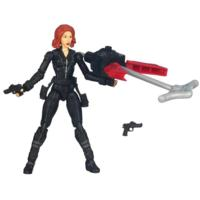 MARVEL THE AVENGERS Movie Series Grapple Blast BLACK WIDOW Figure