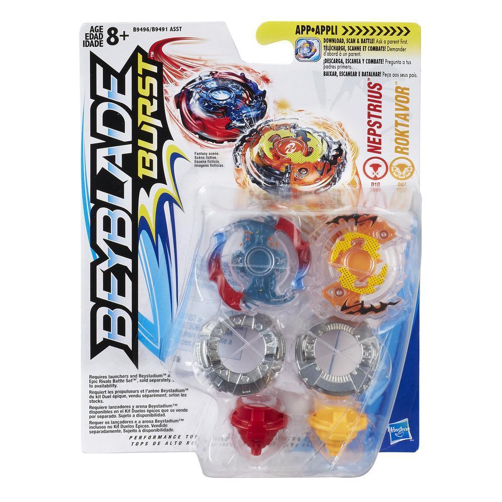 Beyblade Burst Dual Pack Roktavor & Nepstrius