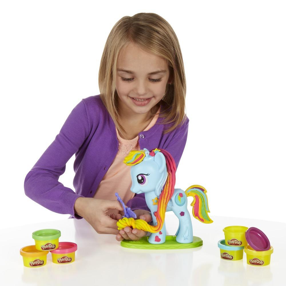 Play-Doh Rainbow Dash Style Salon Featuring My Little Pony
