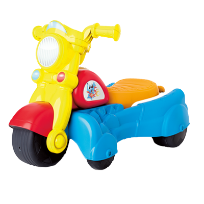PLAYSKOOL ROCKTIVITY WALK 'N ROLL RIDER (Blue)