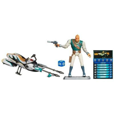 STAR WARS THE CLONE WARS SPEEDER BIKE with CASTAS Set