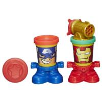 Play-Doh Marvel Can-Heads Featuring Iron Man and Captain America