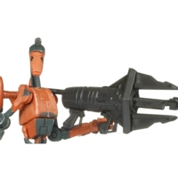 Star Wars The Clone Wars Rocket Battle Droid