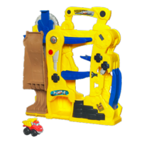 TONKA CHUCK & FRIENDS Fold 'n Go Tumble Tower Playset