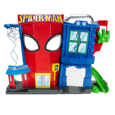 PLAYSKOOL HEROES ELECTRONIC SPIDER-MAN STUNT CITY