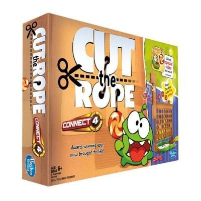 CONNECT 4: CUT THE ROPE Edition