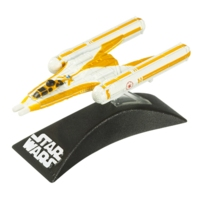 Star Wars TITANIUM SERIES Die-Cast Anakin's Y-Wing