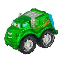 TONKA CHUCK & FRIENDS TWIST TRAX TONKA TOUGH ROWDY THE GARBAGE TRUCK Die Cast Vehicle