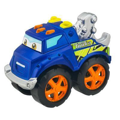 TONKA CHUCK & FRIENDS TWIST TRAX TONKA TOUGH HANDY THE TOW TRUCK Die Cast Vehicle