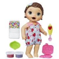 Baby Alive Super Snacks Snackin' Lily  - Brunette Hair