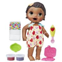 Baby Alive Super Snacks Snackin' Lily - Dark Brown Hair