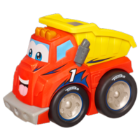 TONKA CHUCK & FRIENDS RACE GEAR CHUCK Vehicle (Blue Trim)
