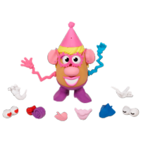 MRS. POTATO HEAD PARTY SPUDETTE Figure