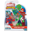 MARVEL Spider-Man Adventures PLAYSKOOL HEROES SPIDER-MAN and LIZARD 2-Pack