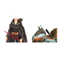 Star Wars The Clone Wars Count Dooku and Speeder Bike