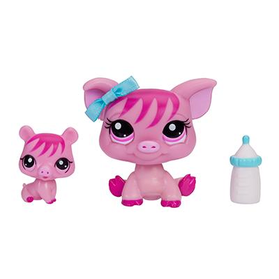 Littlest Pet Shop Pig and Baby Pig Pets