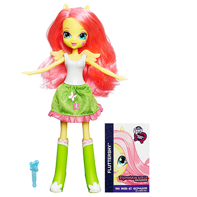 My Little Pony Equestria Girls Collection Fluttershy Doll