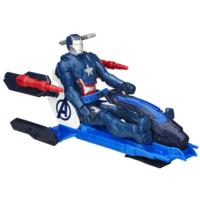 Marvel Avengers Titan Hero Series Iron Patriot Figure with Arc Thruster Jet Vehicle