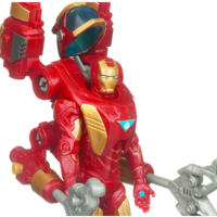 Iron Man 2 Concept Series Armor Tech Iron Man Negative Zone Upgrade