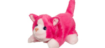FURREAL FRIENDS SNUGGIMALS SNUG-A-BUNDLE (Pink Cat)