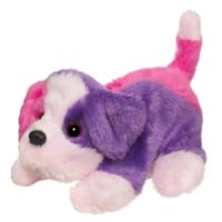 FURREAL FRIENDS SNUGGIMALS SNUG-A-PATCHES (Purple and Pink Dog)