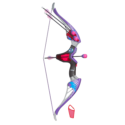 Nerf Rebelle Agent Bow Blaster (Purple Arrows)