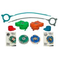 BEYBLADE METAL MASTERS AQUA SWORD STRIKE 2-Pack: BB-82B GRAND CETUS WD145RS Defense vs. B-116 HYPER ORSO SW145JB Defense