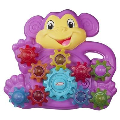 Playskool Stack 'n Spin Monkey Gears Toy