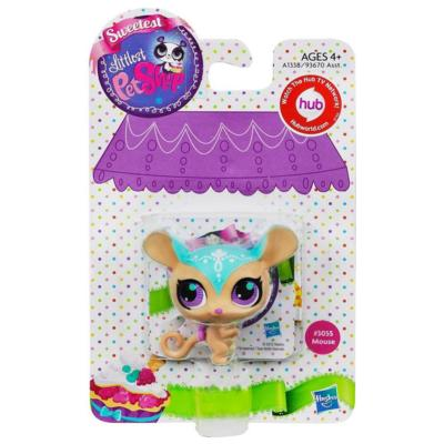Littlest Pet Shop Sweetest Mouse Single Pet