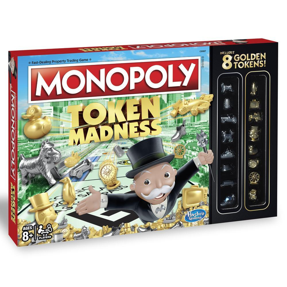 Monopoly Token Madness Game
